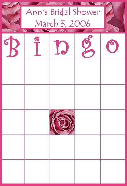 bingo para editar. Bingo910