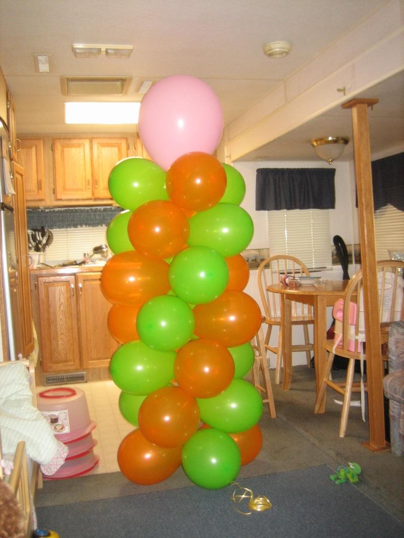 pilar de globos Zoo_y_13