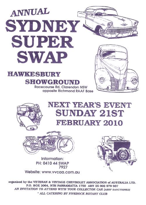 Super Swap Meet Sunday 21st February 2010 Supers10