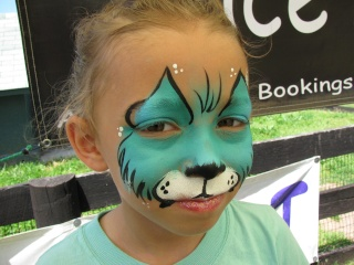 Professional Face Painting/Balloon Twisting Teal_k10