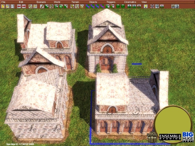 Here is a Screens of New  Buildings/Unit textured Screen18