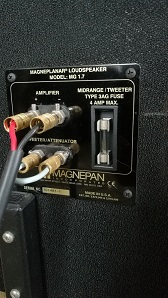 Magnepan Magneplanar 1.7 (used) special price reduction Mg_1_711
