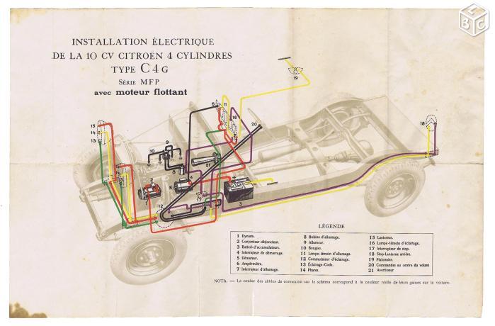 Branchement commodo Elecc410