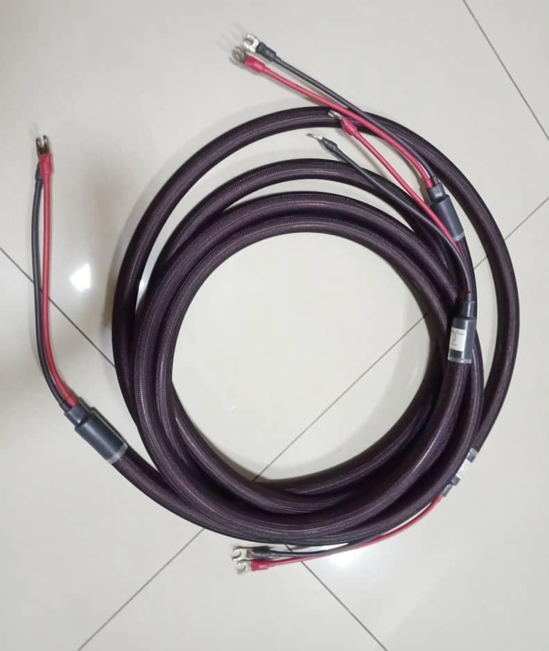Speaker Cables: Inakustiks, MIT, Supra,  Nordost, Van Den Hul, Tellurium Q, PAD, Studio Connections, Etc.... A118