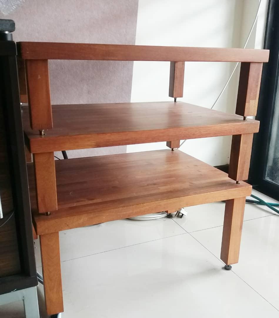 ATS 3 Tier Wooden Rack  A124