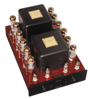 Cary Audio CAD 280SA V12 50Wx2 Triode or 100Wx2 UL Power Amplifier in Jaguar Carnival Red Finish A126