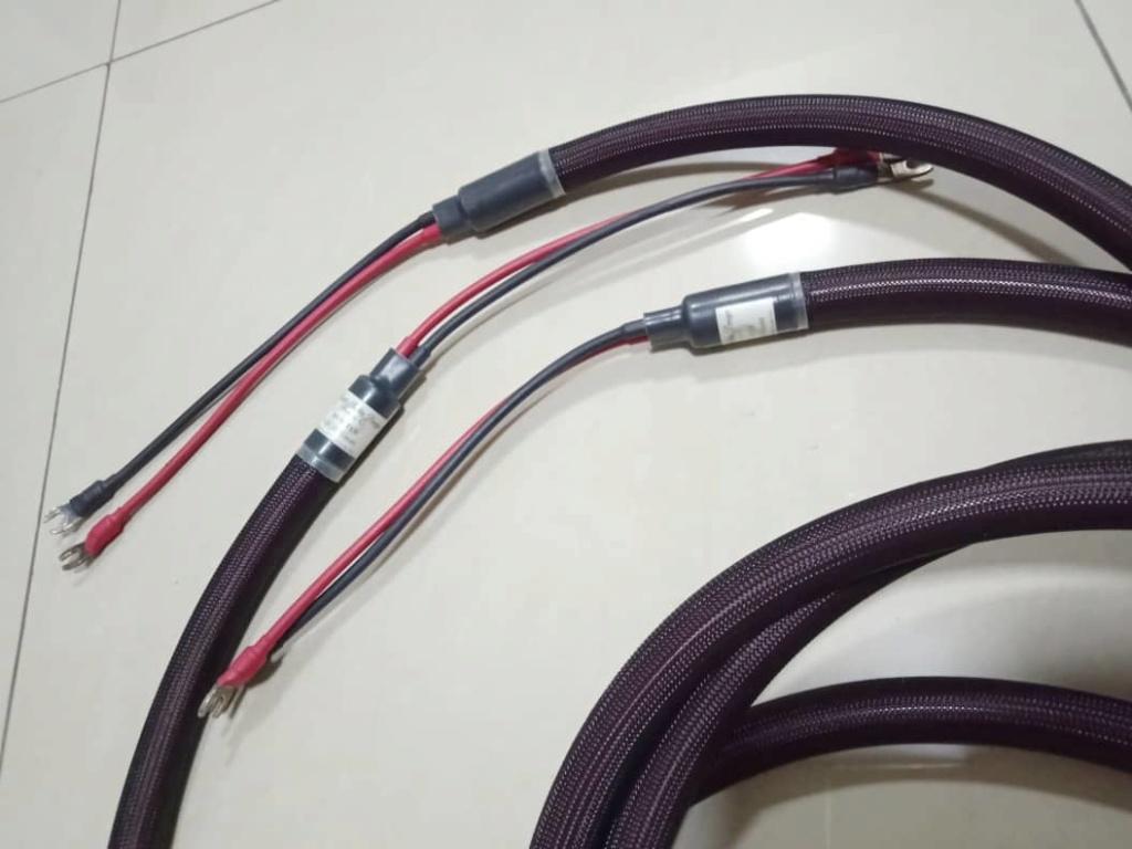 Purist Audio Design Musaeus Rev. C Speaker Cables - 3m pair A218