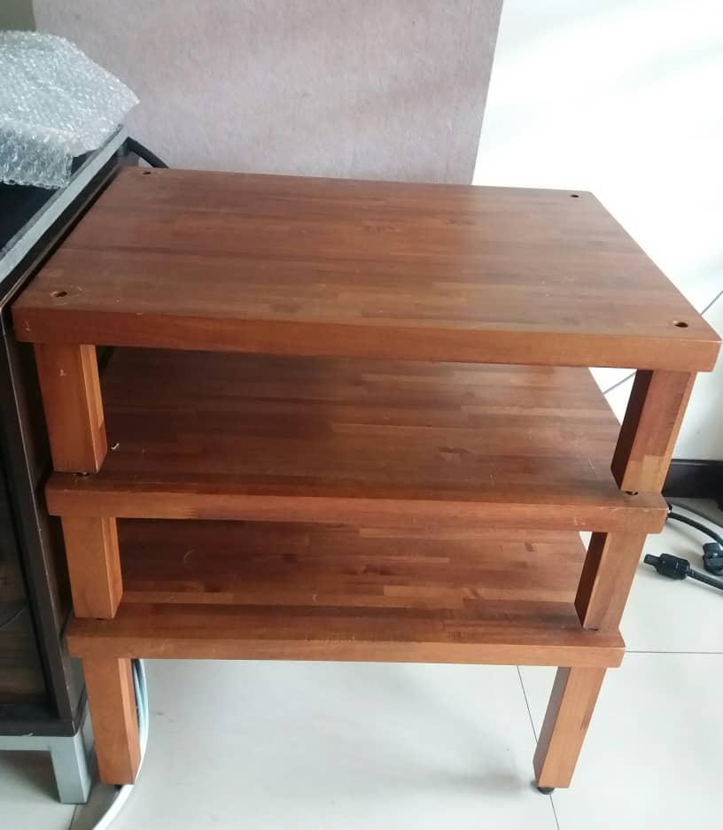 ATS 3 Tier Wooden Rack  A224