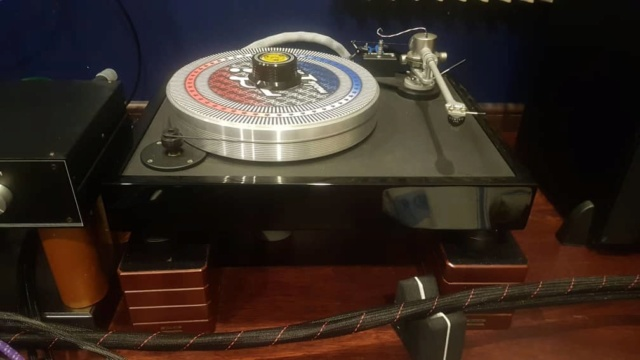 VPI Classic 1 Turntable with Trichord Delphini  mkll Phonostage A231