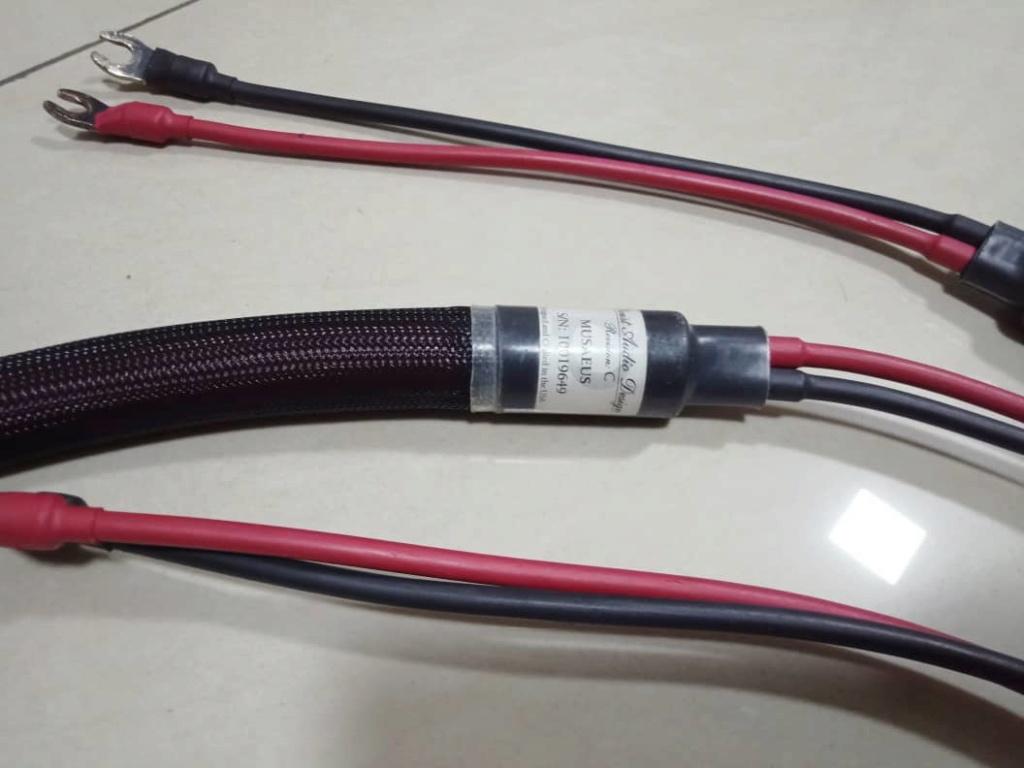 Speaker Cables: Inakustiks, MIT, Supra,  Nordost, Van Den Hul, Tellurium Q, PAD, Studio Connections, Etc.... A318