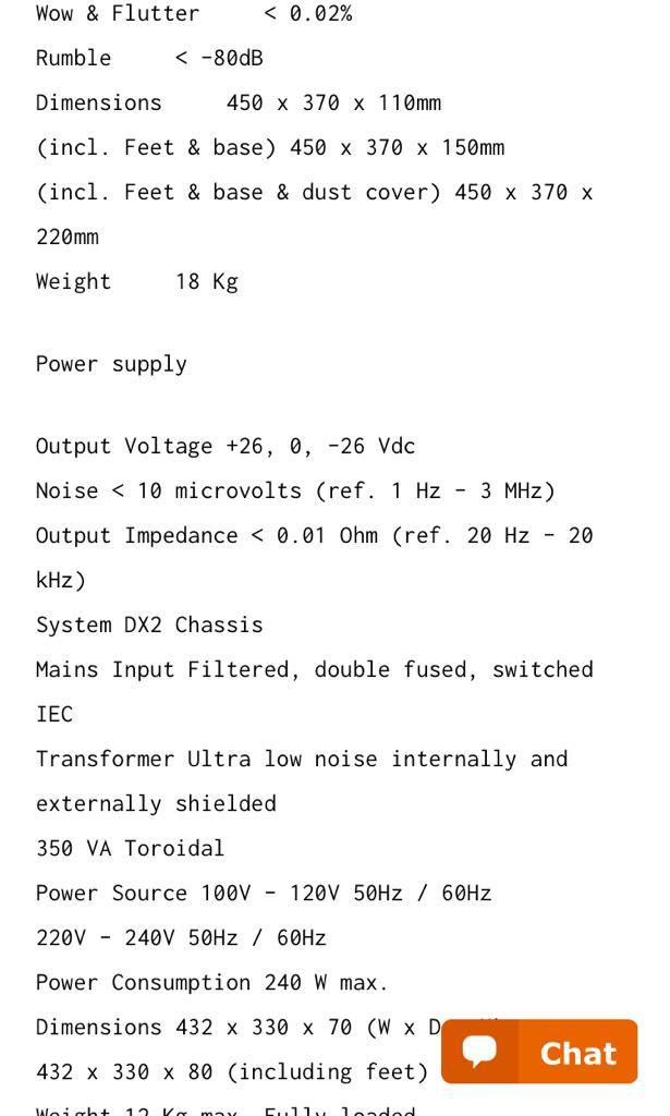Roksan TMS3 Turntable With Roksan Caspian Power Supply A323