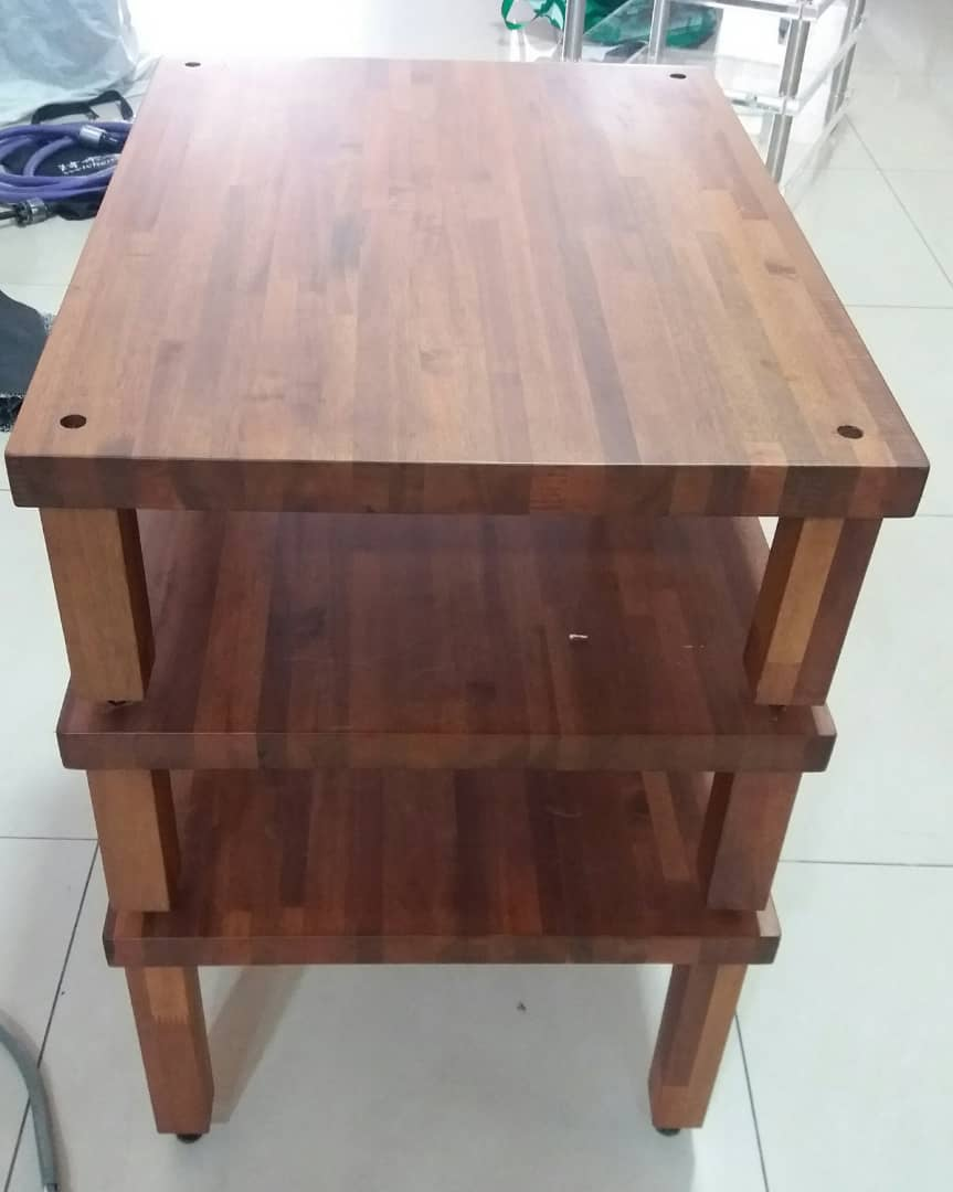 ATS 3 Tier Wooden Rack  A324