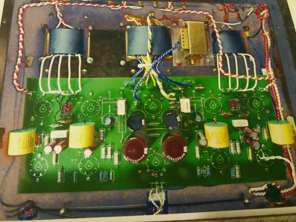 Bewitch 6550 Tube Integrated Amplifier  A513