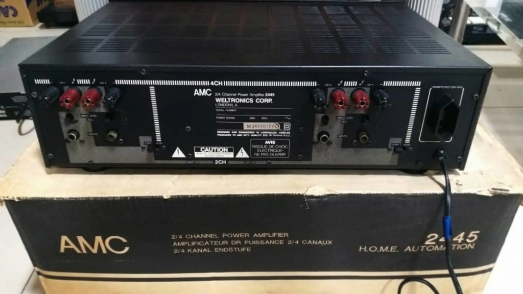 AMC 2445 Power Amplifier Amc310
