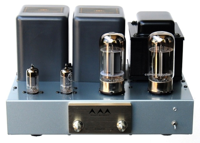 AirTight (Acoustic Masterpiece) M-101 Single Ended Power Amp using KT88 Tubes At110