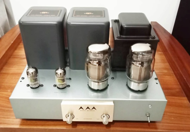 AirTight (Acoustic Masterpiece) M-101 Single Ended Power Amp using KT88 Tubes At210