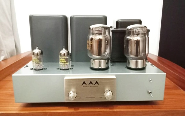 AirTight (Acoustic Masterpiece) M-101 Single Ended Power Amp using KT88 Tubes At310