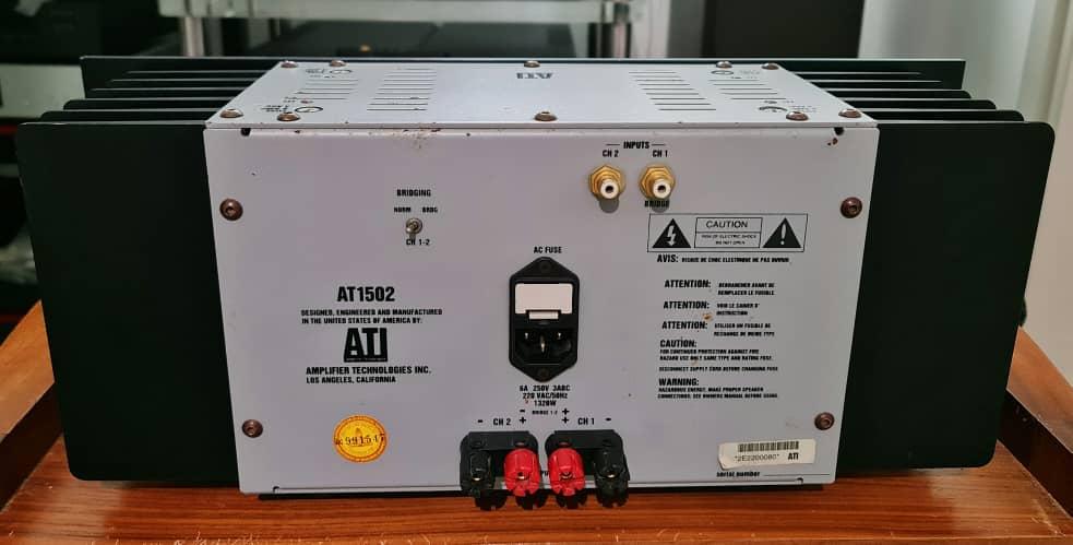 ATI AT1502 2-Channel Power Amplifier Ati210