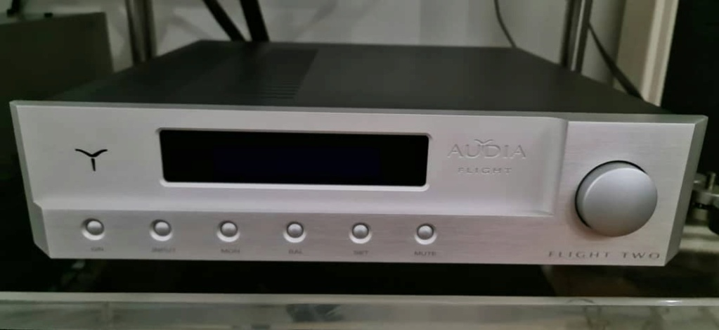 SOLD Audio Flight TWO Integrated Amplifier Audiaf11