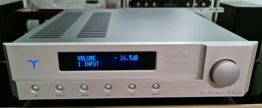 SOLD Audio Flight TWO Integrated Amplifier Audiaf13