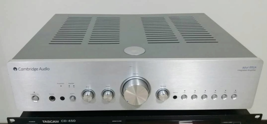 Cambridge Audio 651A Stereo integrated amplifier with USB input  Audio112