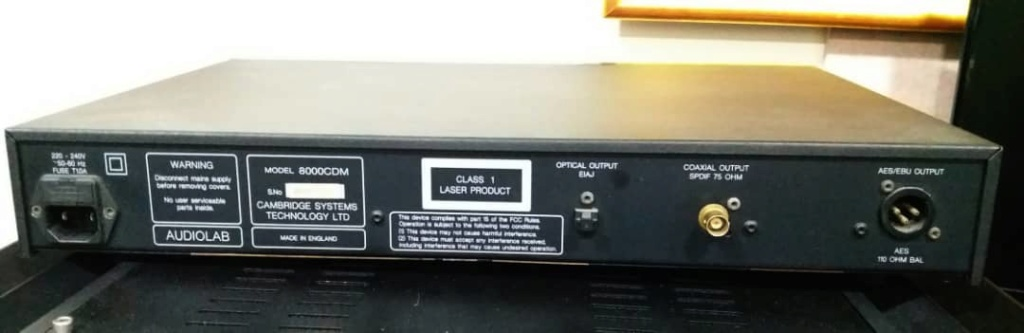 Audiolab 8000CDM CD Transport  Audio211