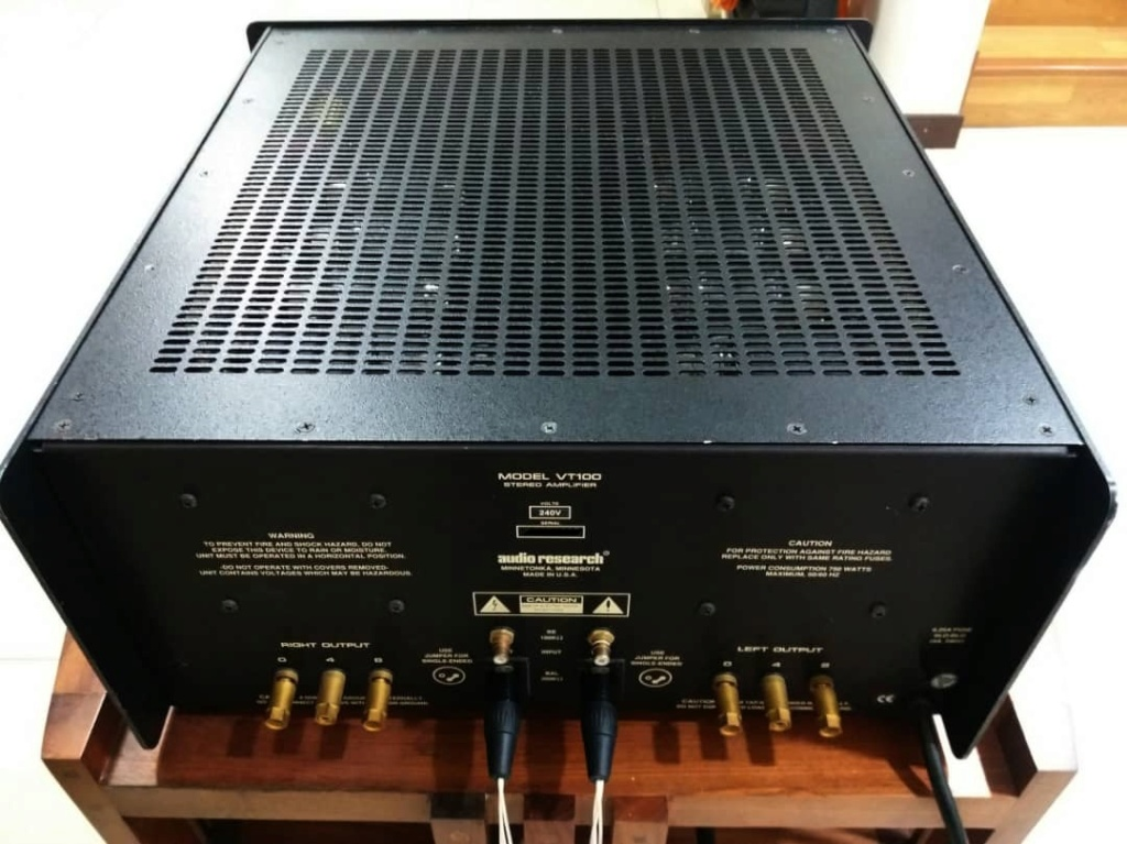 Audio Research VT100 Tube Stereo Power Amplifier Audio511