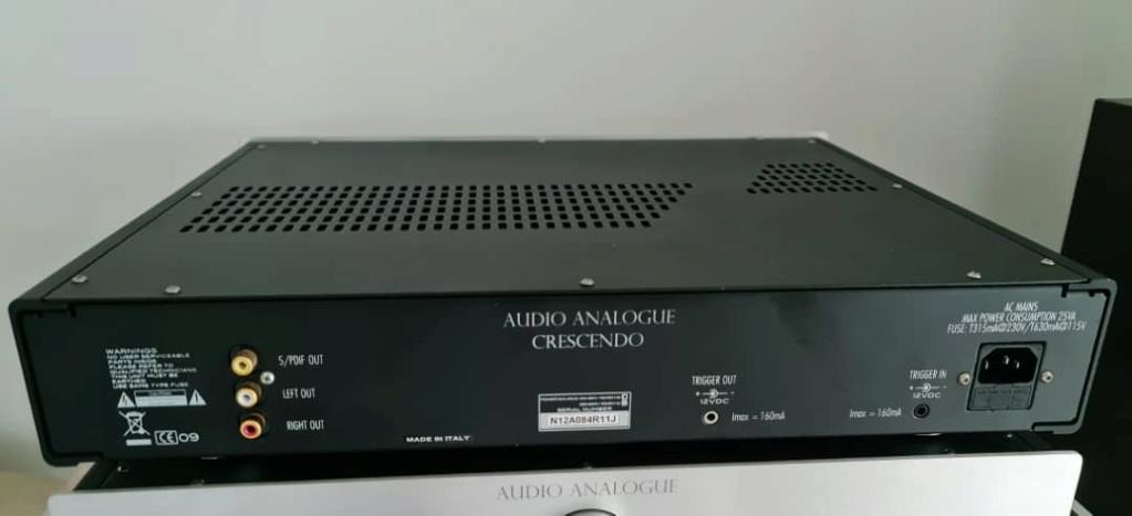 Audio Analogue Crescendo CD Player Audioa11