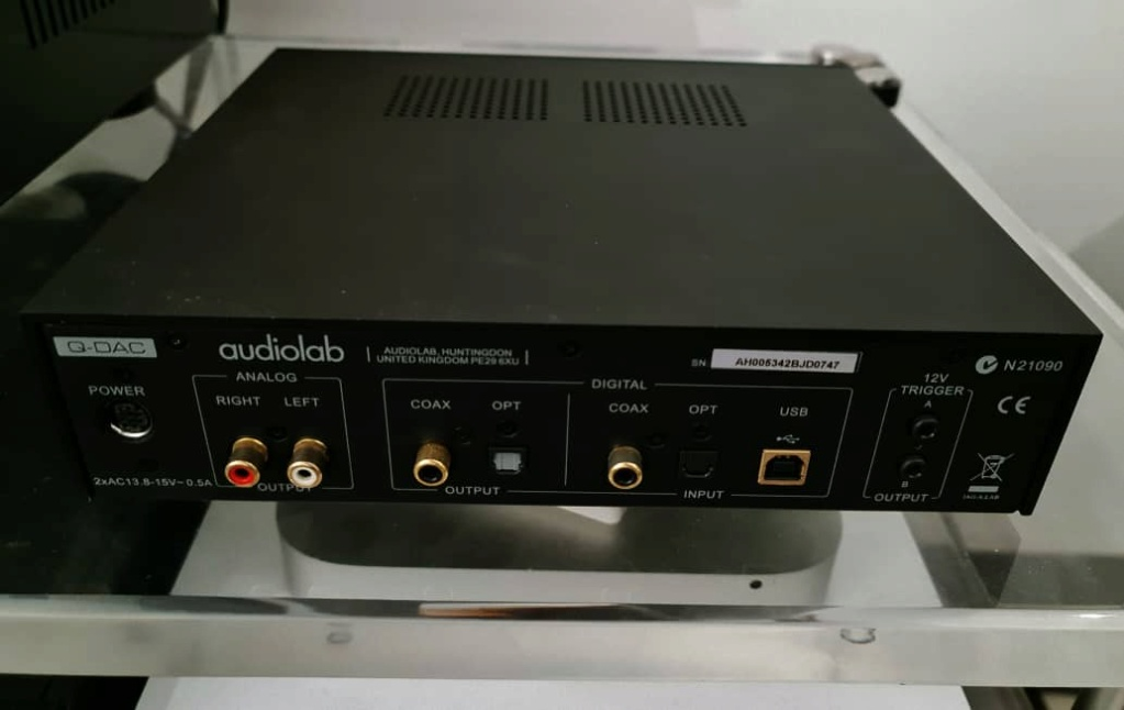 Audiolab Q-DAC Digital To Analogue Converter Audiol13