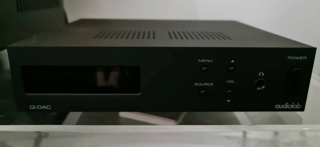 Audiolab Q-DAC Digital To Analogue Converter Audiol15