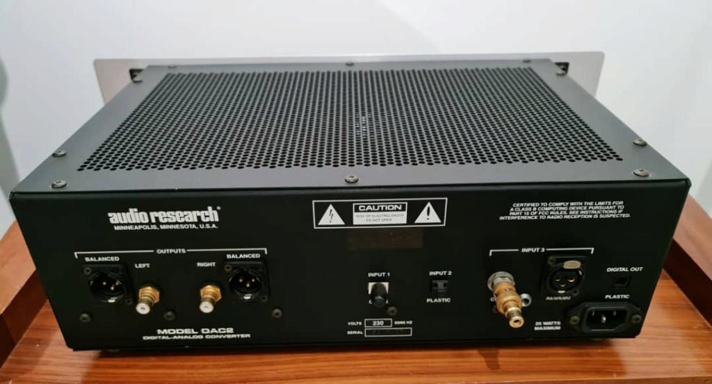 Audio Research DAC-2 D/A Converter Audior16