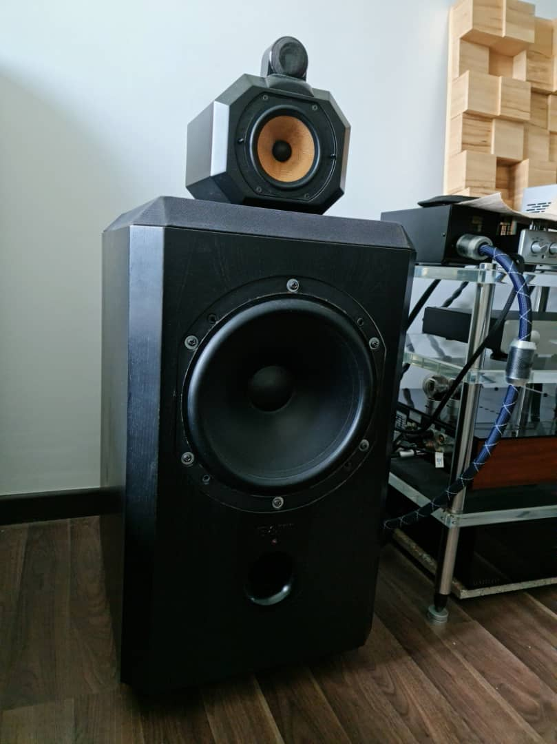 B&W Matrix 801 Series 2 Speakers.  B120