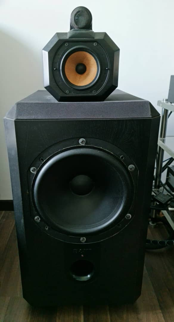B&W Matrix 801 Series 2 Speakers.  B221