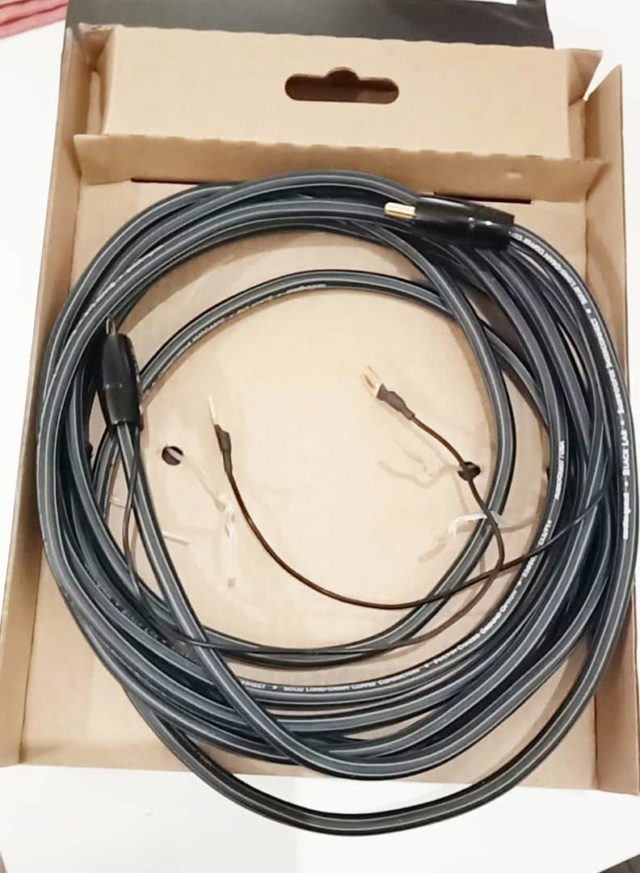 Audioquest Black Lab 3M Subwoofer Cables B317