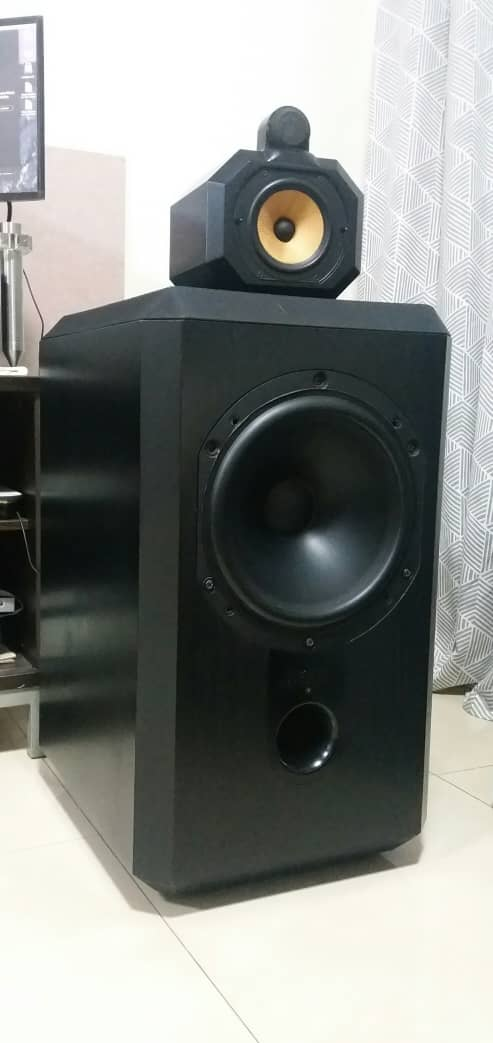 B&W Matrix 801 Series 2 Speakers B410
