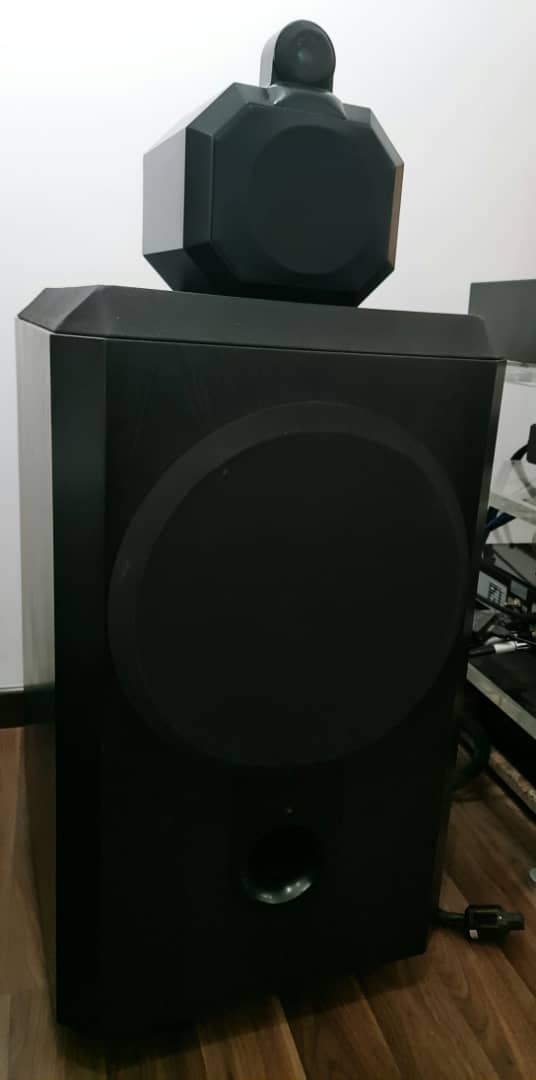 B&W Matrix 801 Series 2 Speakers.  B610