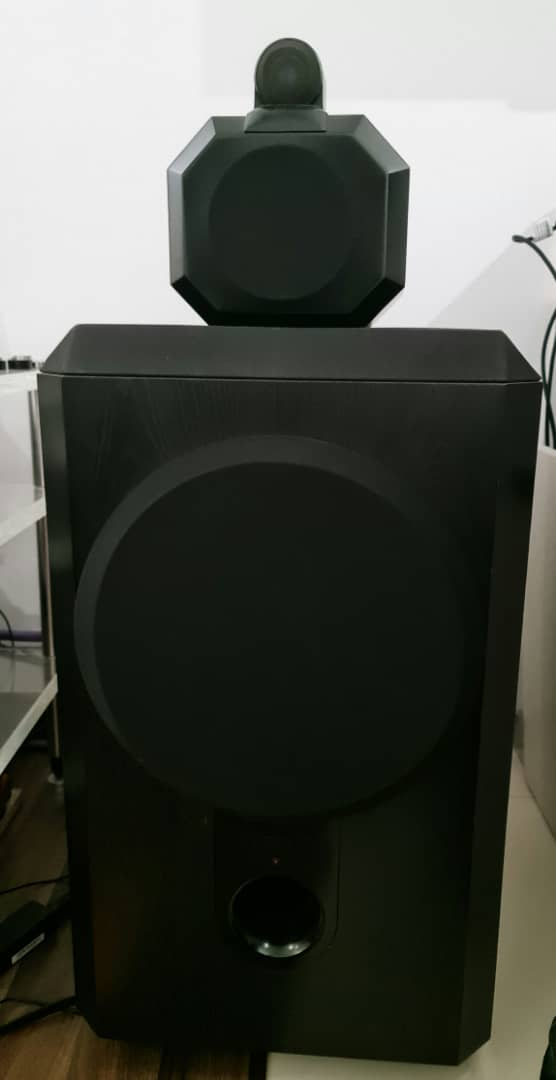 B&W Matrix 801 Series 2 Speakers.  B710