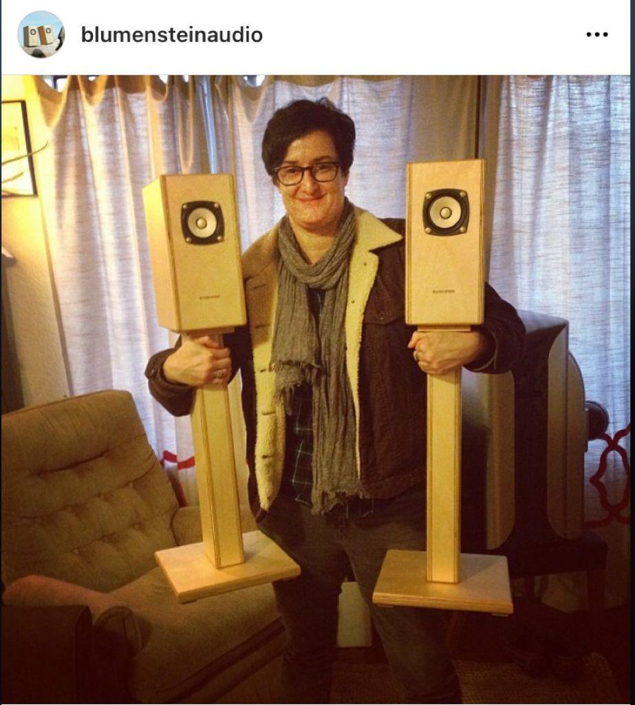 "Blumenstein Audio Orca 3"" Full Range Speakers Blumen10"