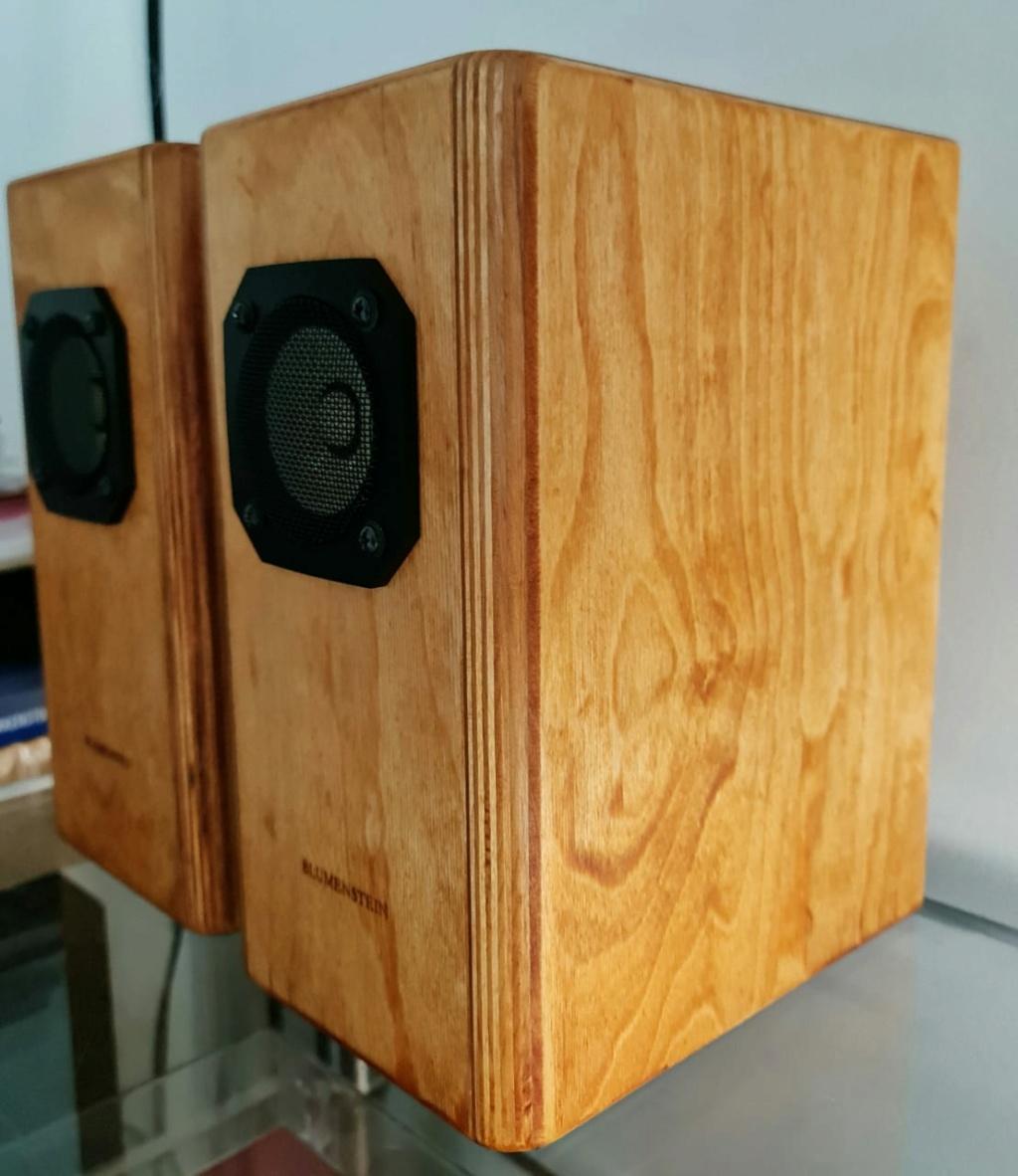 "Blumenstein Audio Orca 3"" Full Range Speakers Blumen13"
