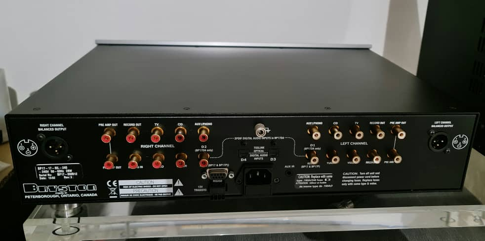 Bryston BP-17 Stereo Preamplifier (Price Reduced) Brysto22