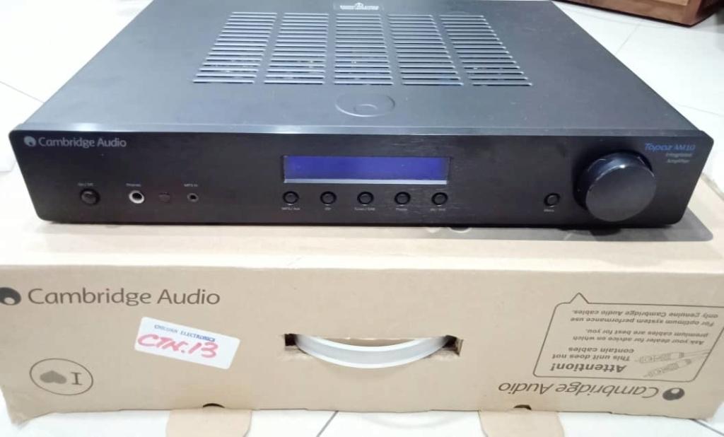 Cambridge Audio TOPAZ AM10 Integrated Amplifier C311