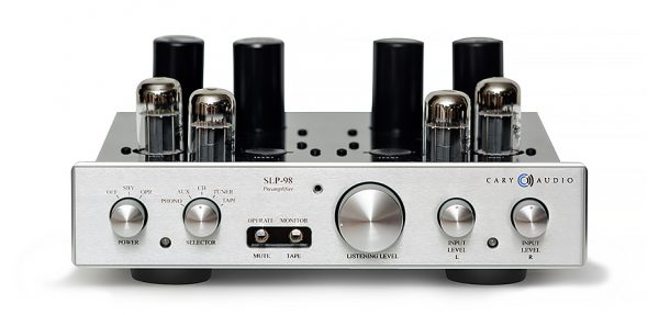 Cary Audio SLP-98L Tube Preamplifier with External Power Supply C810