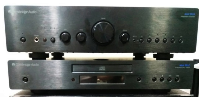Cambridge Audio Azur 651A Integrated Amplifier with USB Input & Sub-Out Cam410