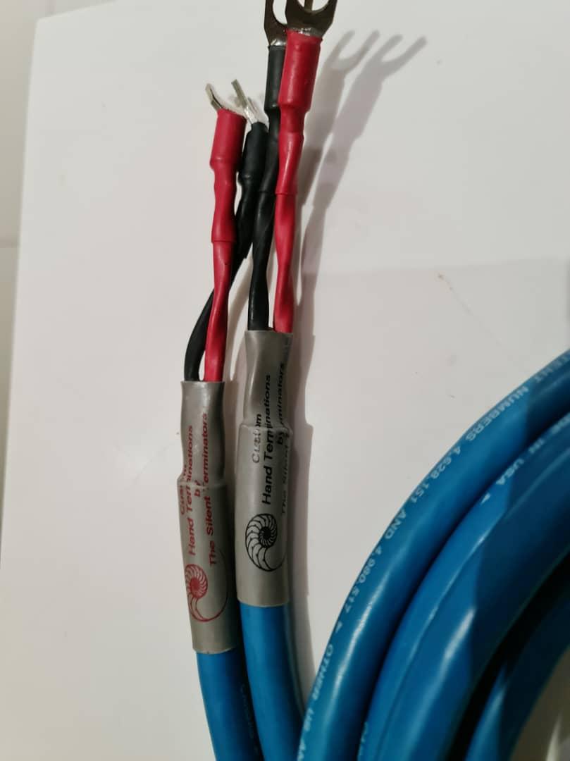 Various Cables: Siltech, NBS, Cardas, Stage III Concepts, Shunyata, etc Cardas13