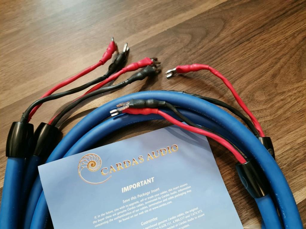 Speaker Cables: Cardas Clear, Cardas Clear Light, Shunyata, Xindak, Merlin,  etc Cardas20