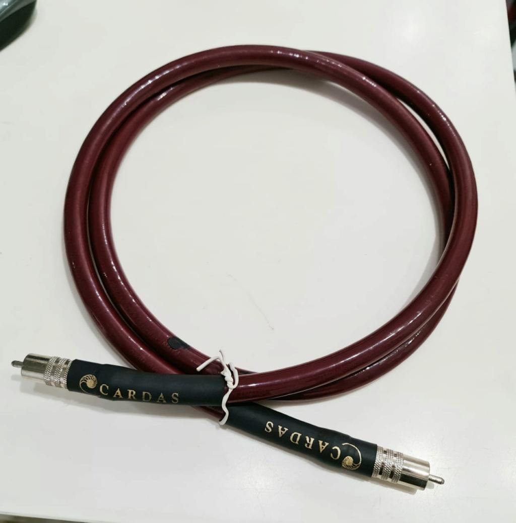 Cardas Audio Lightning 15 75 ohm SPDIF Coaxial Digital Cable - 1.5m Cardas23