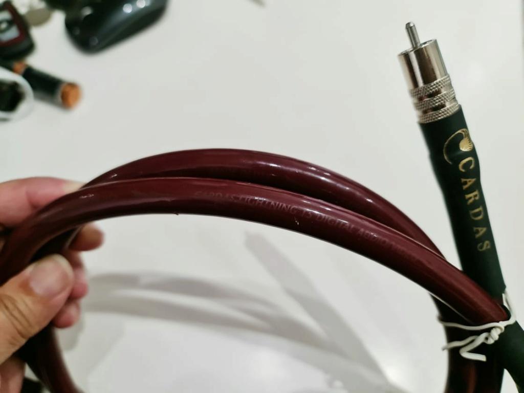 Cardas Audio Lightning 15 75 ohm SPDIF Coaxial Digital Cable - 1.5m Cardas25