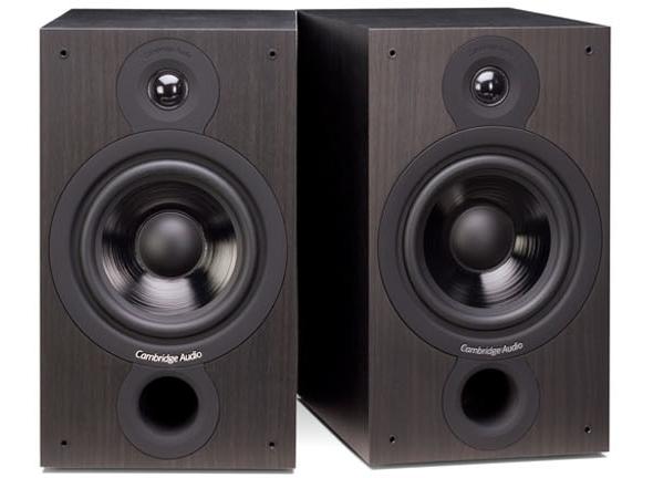 Cambridge Audio Topaz AM10 Integrated Amplifier and Cambridge Audio SX-60 Bookshelf Speakers.  Catopa10