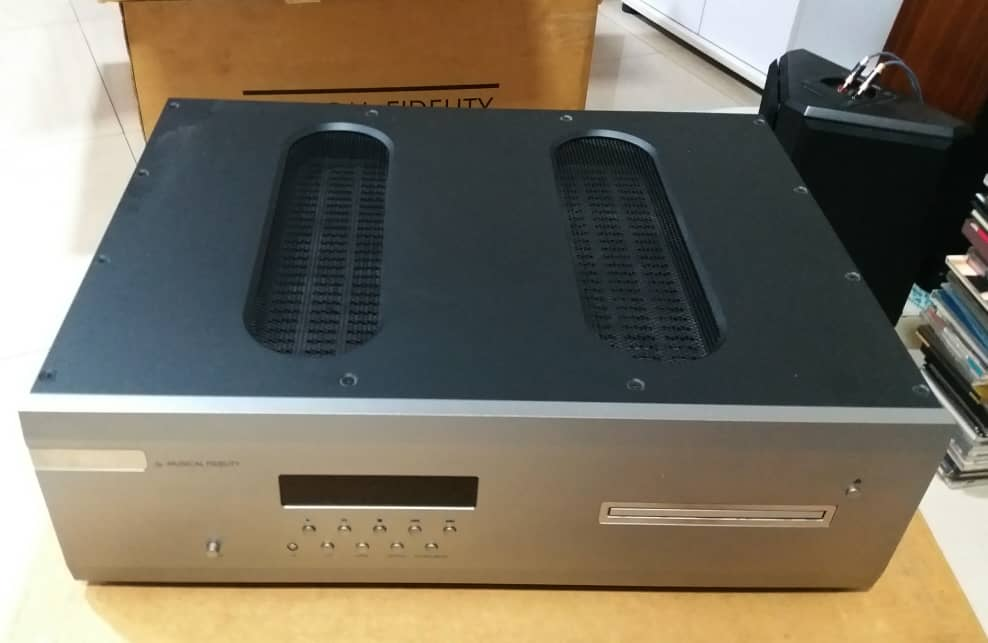 Musical Fidelity AMS CD Player with Multi Input DAC Cd710
