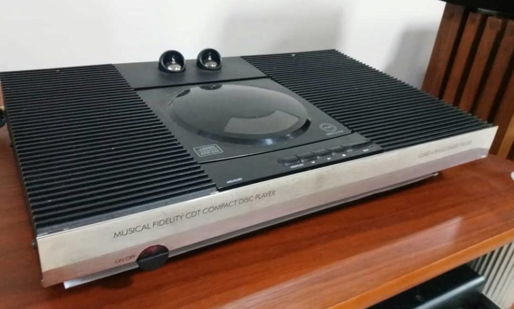 Musical Fidelity CDT Valve CD Player Cdt110